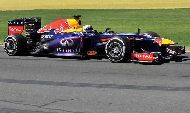 Vettel dyktował tempo na treningach /AFP