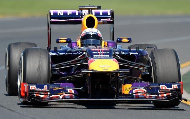"Vettel i jego ""Głodna Heide"" na treningu przed GP Australii /AFP"