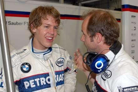 Vettel podczas testów w Jerez / Kliknij /INTERIA.PL