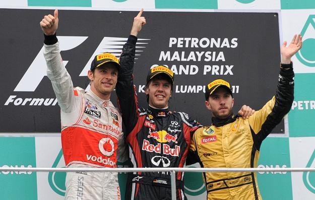 Vettel wygrał drugi wyścig z rzędu /AFP