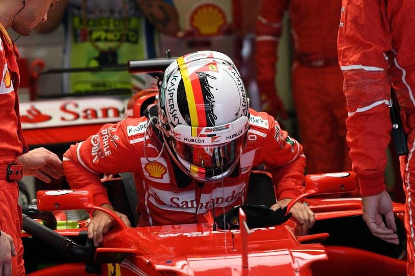 Vettelowi pozostała walka o tytuł wicemistrza /AFP