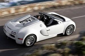 Veyronem najwyżej 130 km/h!