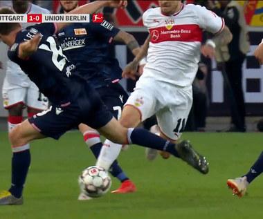 VfB Stuttgart - Union Berlin 2-2 - skrót (ZDJĘCIA ELEVEN SPORTS). WIDEO