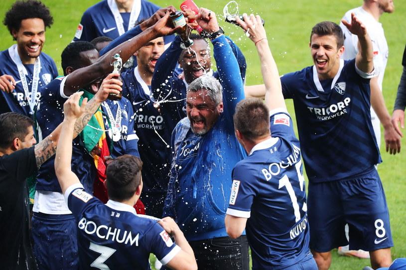 VfL Bochum świętuje awans do Bundesligi /Christof Koepsel /PAP/EPA