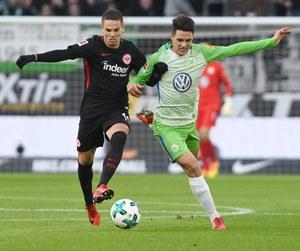 VfL Wolfsburg - Eintracht Frankfurt 1-3 w 19. kolejce Bundesligi