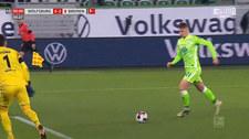 VfL Wolfsburg - Werder Brema 5-3 - skrót (ZDJĘCIA ELEVEN SPORTS). WIDEO