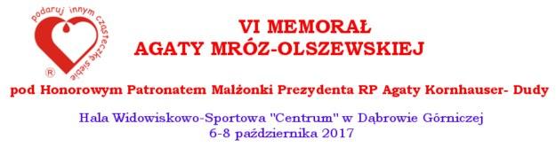VI Memoriał Agaty Mróz-Olszewskiej /Materiały prasowe