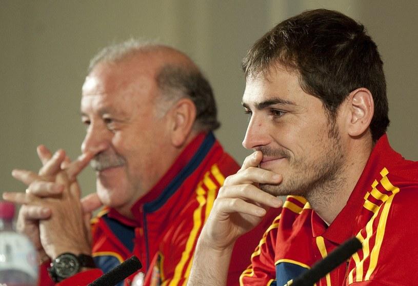 Vicente del Bosque przywrócił Ikerowi Casillasowi dawne miejsce /AFP