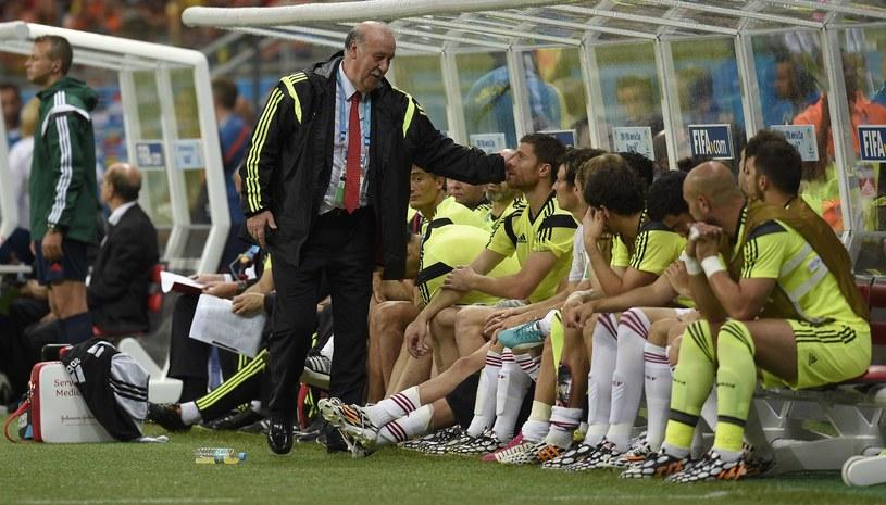 Vicente Del Bosque, trener reprezentacji Hiszpanii /AFP