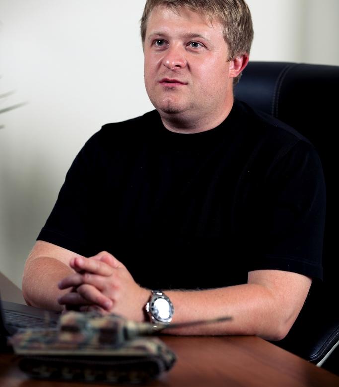 Victor Kislyi, CEO Wargaming.net /materiały źródłowe