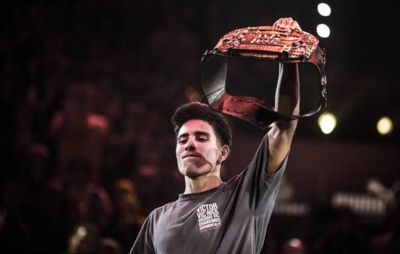 Victor Montalvo jest reprezentantem BC One Allstars i pozostaje inspiracją dla wielu b-boyów. Na początku kwietnia pojawi się w Krakowie, gdzie będzie gościem Red Bull BC One Cypher Poland /materiały prasowe