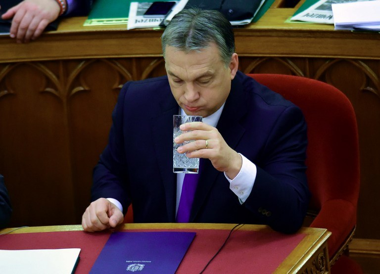 Victor Orban /AFP
