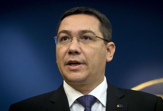Victor Ponta, premier Rumunii /AFP