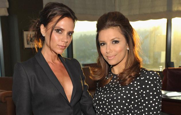 Victoria Beckham i Eva Longoria, fot.John Shearer  /Getty Images/Flash Press Media