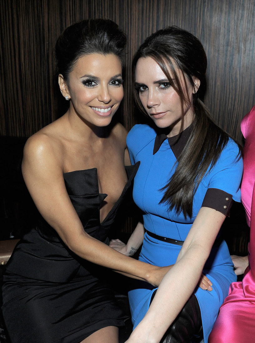 Victoria Beckham i Eva Longoria /Charley Gallay /Getty Images