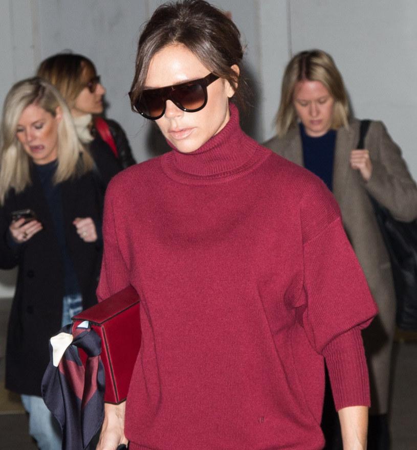 Victoria Beckham już nowi najmodniejszy kolor tej jesieni /East News