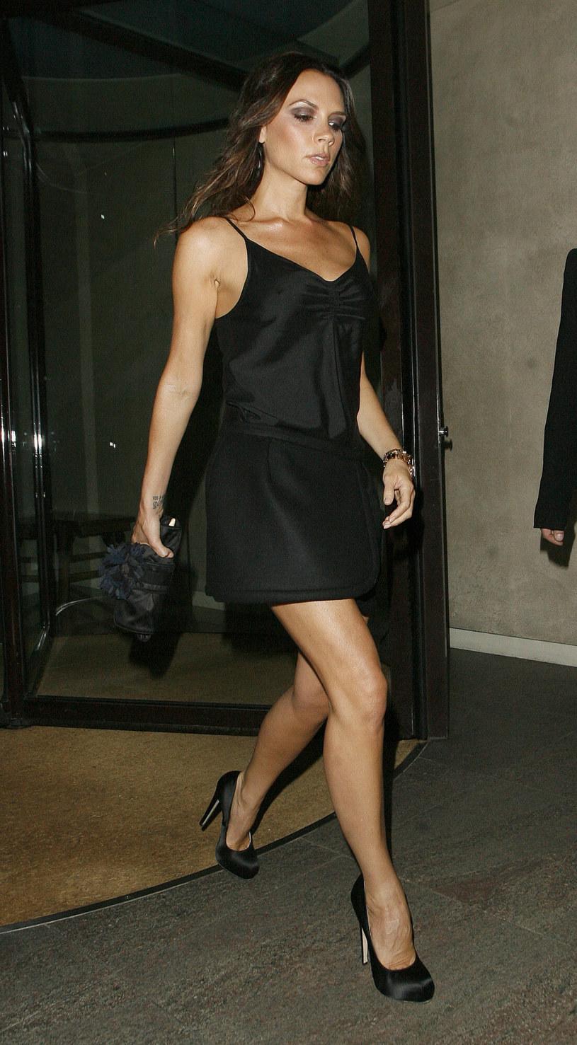 Victoria Beckham na zdjęciu w 2010 roku podczas kolacji u Gordona Ramsaya /Splash News /East News