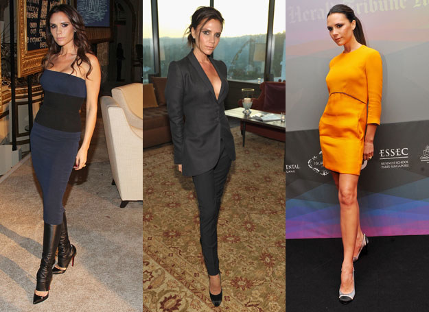 Victoria Beckham to wzorowa celebrytka   /Getty Images/Flash Press Media
