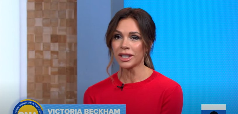 "Victoria Beckham w programie ""Good Morning America"" /Youtube"