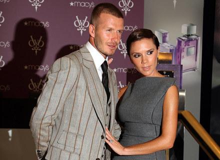 Victoria Beckham z mężam Davidem - fot. Andrew H. Walker /Getty Images/Flash Press Media