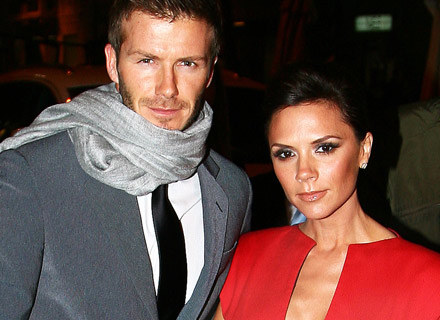 Victoria Beckham z mężem - fot. Luca Ghidoni /Getty Images/Flash Press Media