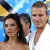 Victoria Beckham z mężem /Archiwum
