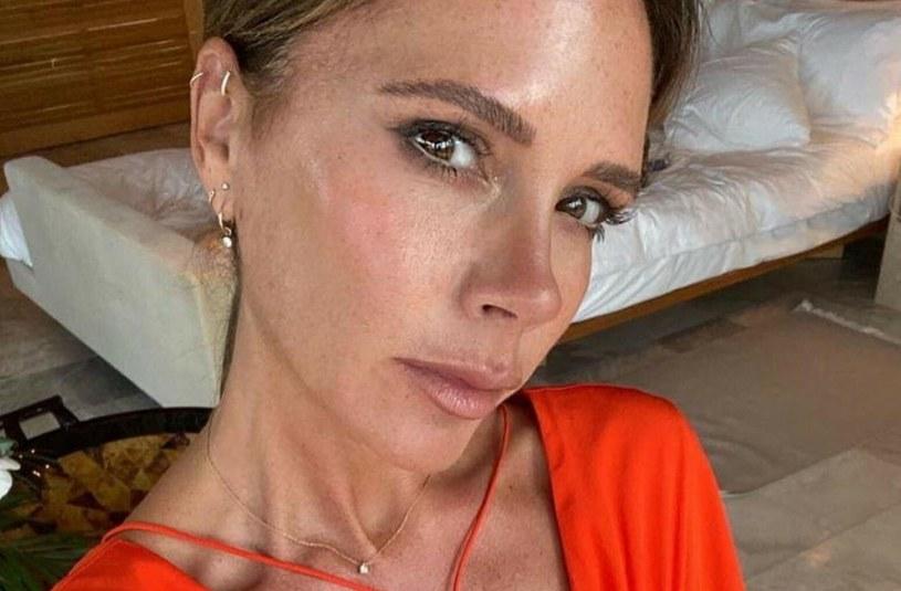 Victoria Beckham zapłaciła zdrowiem za nadmiar ryb w diecie /FaceToFace /Reporter