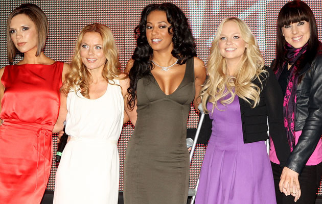 Victoria, Geri Halliwell, Mel B, Emma Bunton i Mel C, fot. Dave Hogan   /Getty Images/Flash Press Media