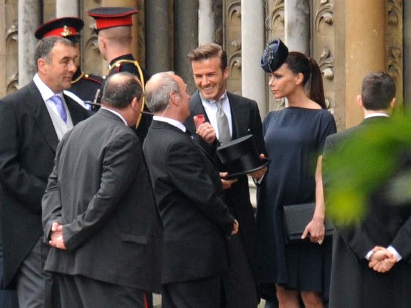 Victoria i David Beckham  /AFP