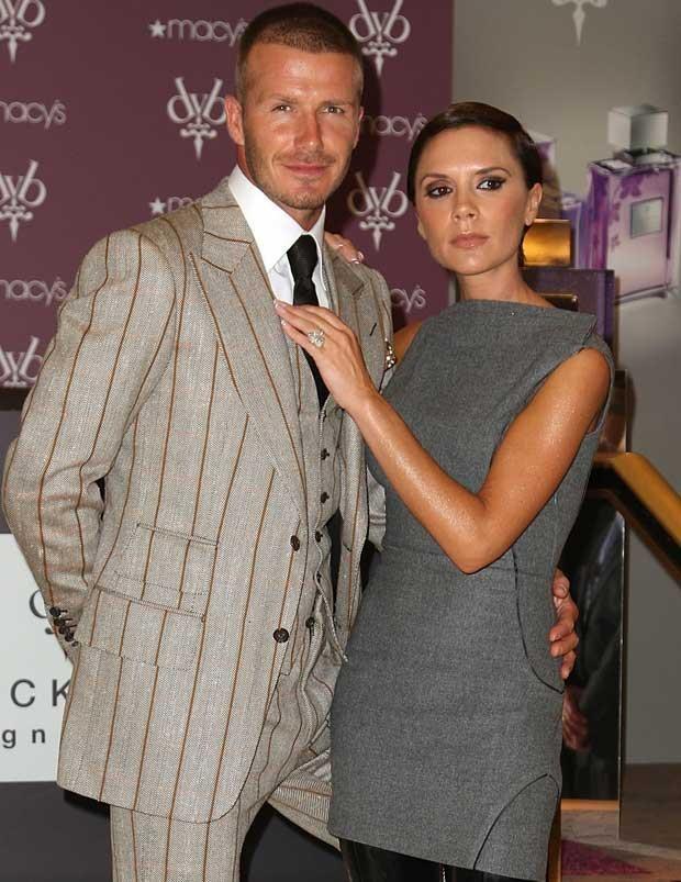 Victoria i David Beckham, fot. Andrew H. Walker  /Getty Images/Flash Press Media