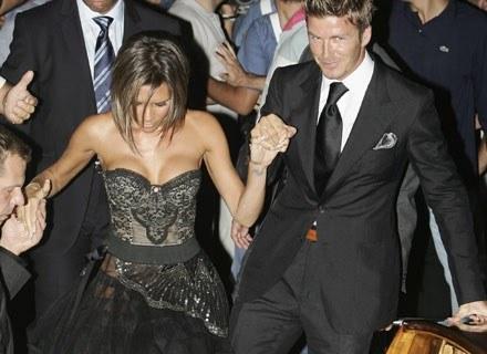 Victoria i David Beckham na Festiwalu Filmowym w Wenecji, wrzesień 2006 /Getty Images/Flash Press Media