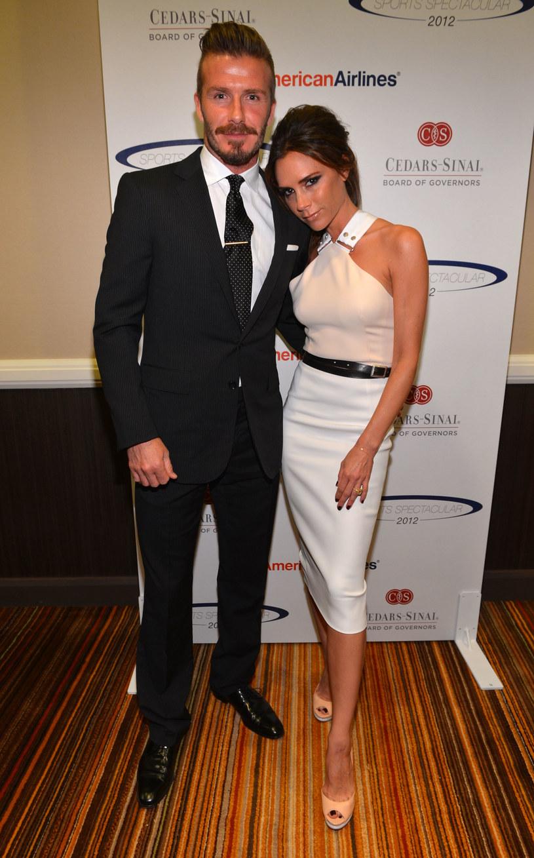 Victoria i David Beckham /Alberto E. Rodriguez /Getty Images