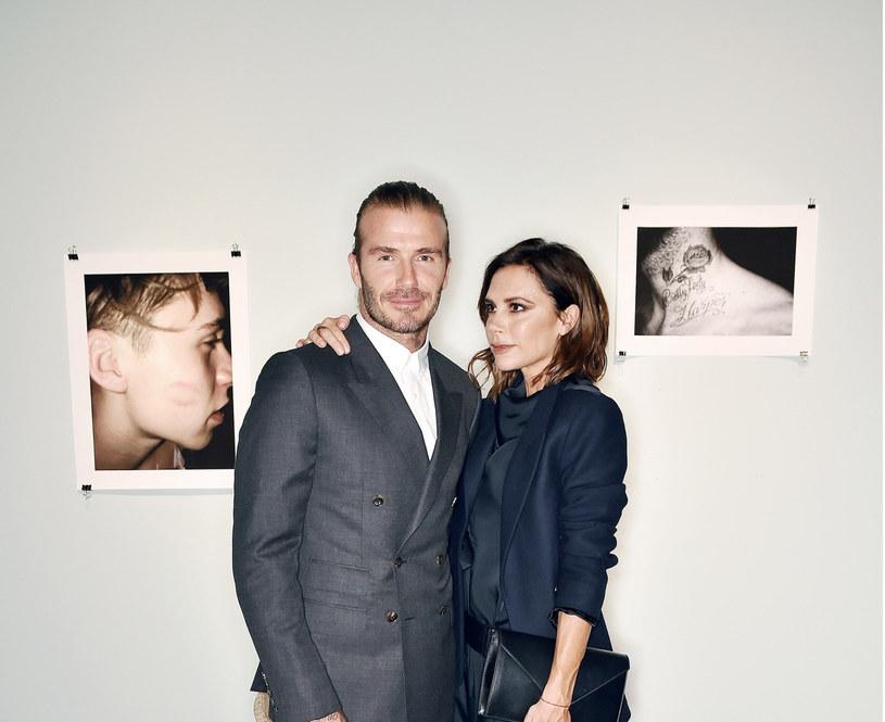 Victoria i David Beckham /East News