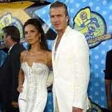 Victoria i David Beckhamowie: Jednak Chłopiec /AFP