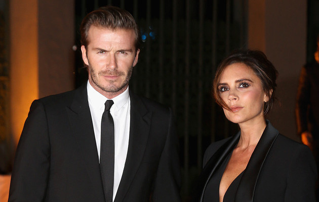 Victoria i David Beckhamowie /Chris Jackson /Getty Images