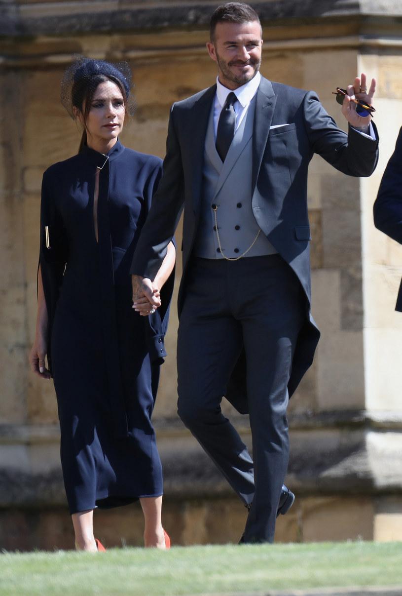 Victoria i David Beckhamowie /Chris Jackson /Getty Images
