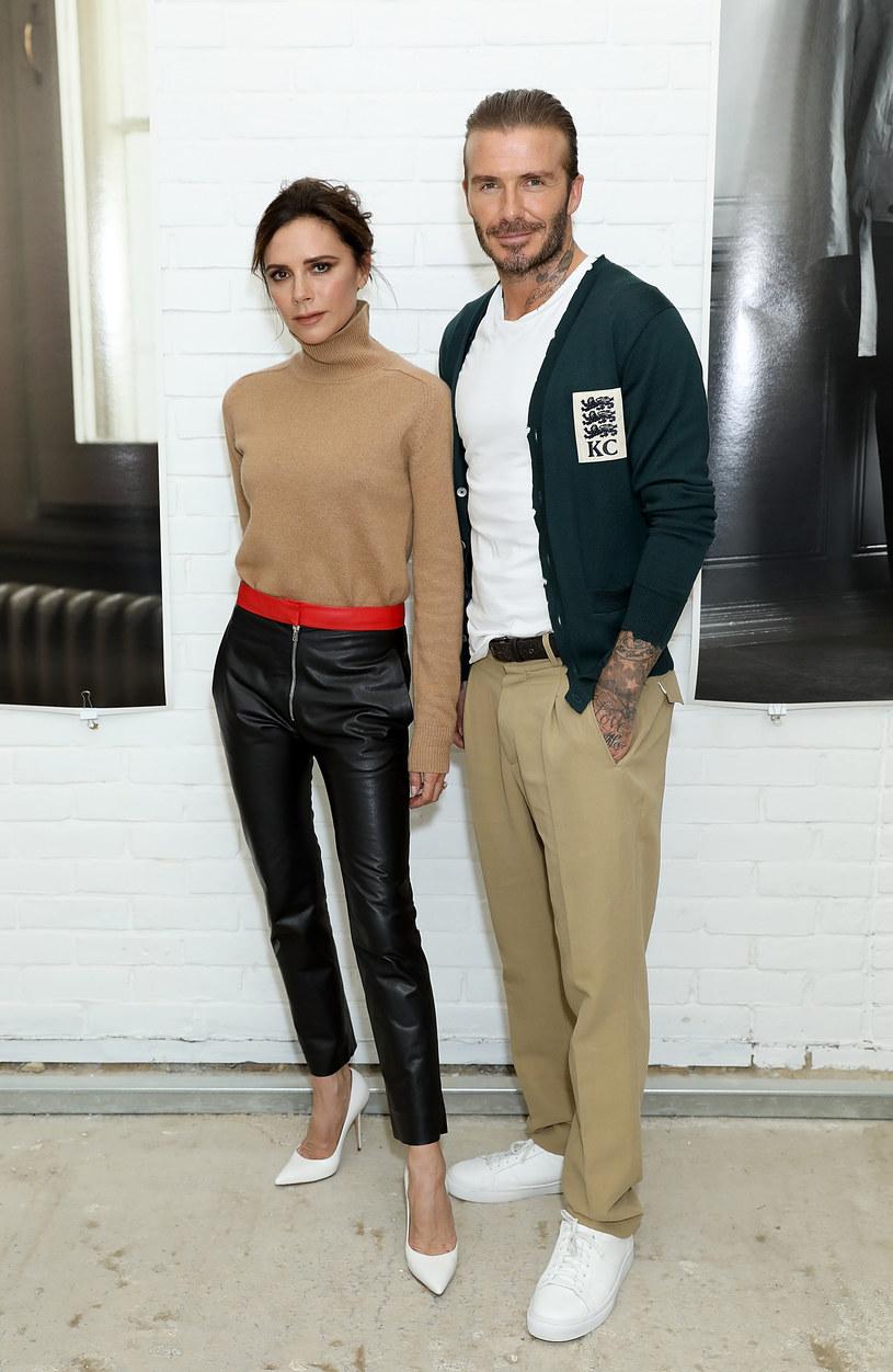 Victoria i David Beckhamowie /Darren Gerrish /Getty Images