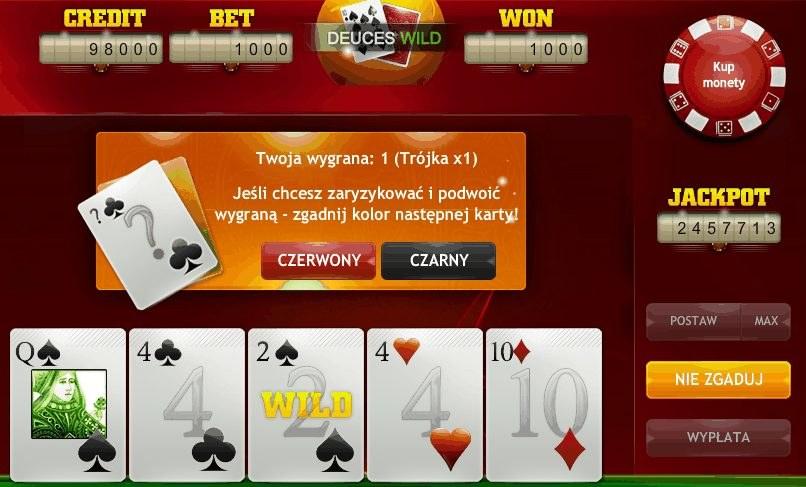 Video Poker to nowa gra w serwisie gramy.interia.pl /INTERIA.PL