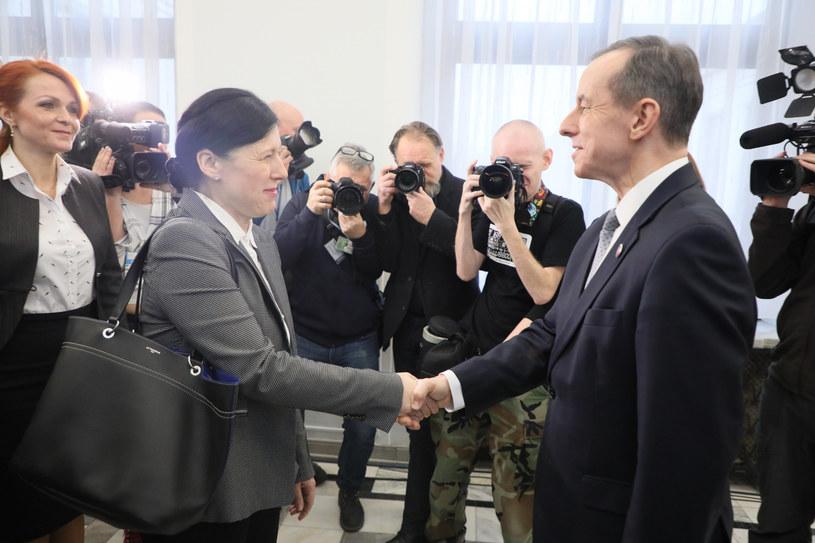 Viera Jourova i Tomasz Grodzki / Jakub Kamiński    /East News