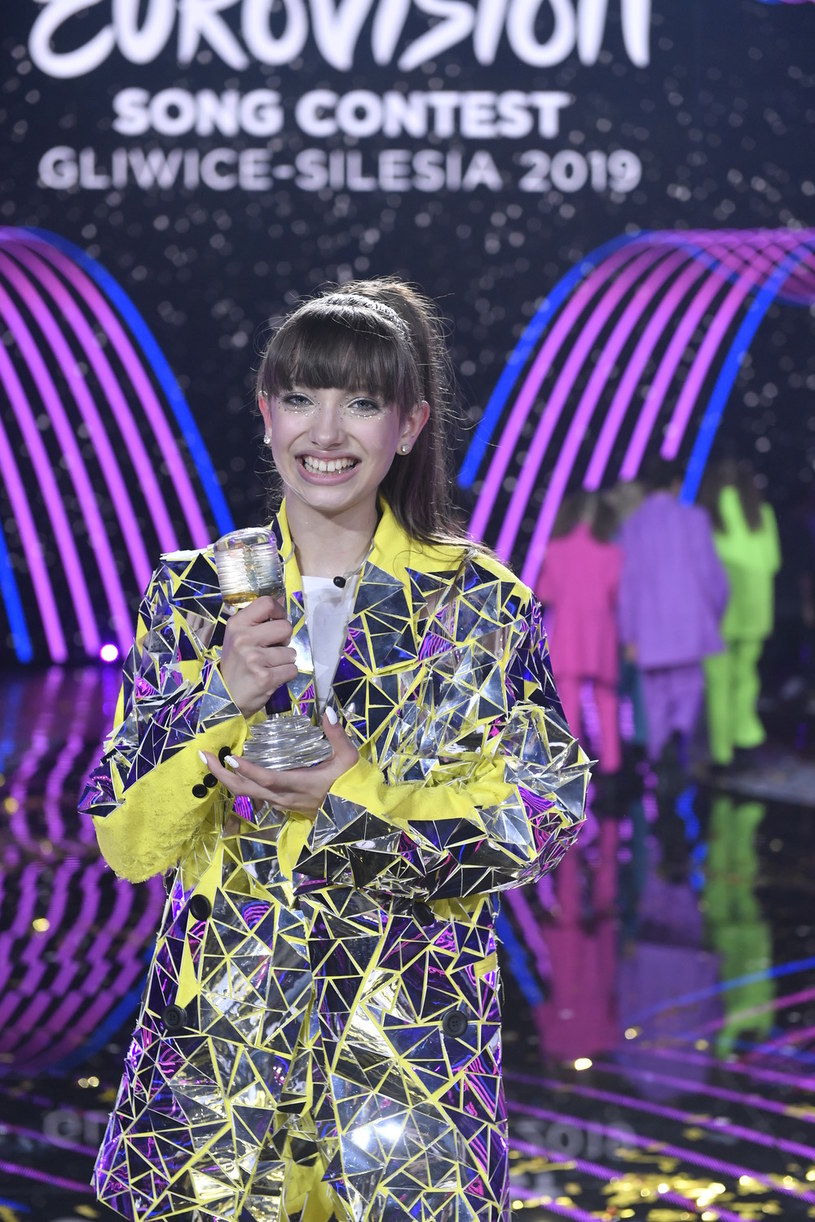 Viki Gabor podczas finału Eurowizji Junior 2019 /Piętka Mieszko /AKPA