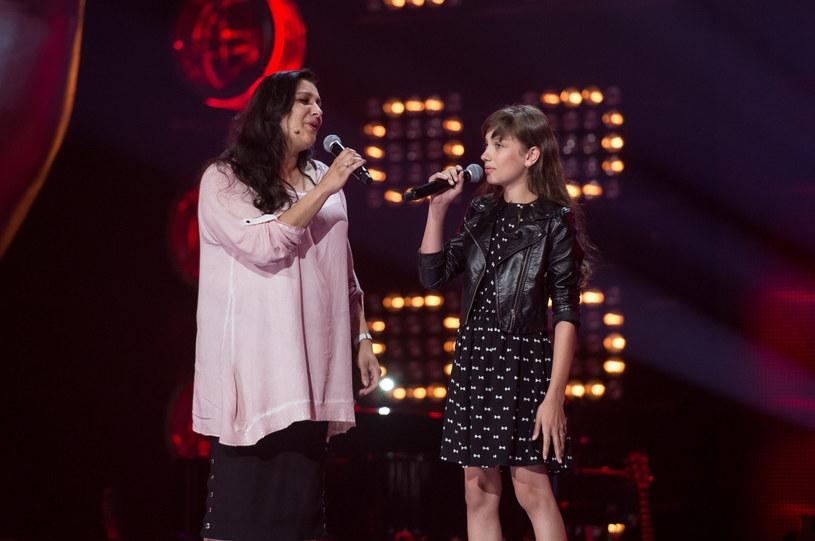 Viki Gabor z mamą /Jan Bogacz/TVP /East News