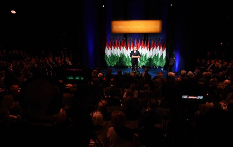 Viktor Orba, szef Fideszu /AFP