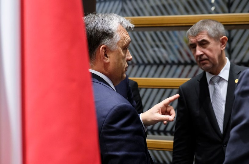 Viktor Orban i Andrej Babisz /AFP