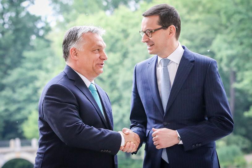 Viktor Orban i Mateusz Morawiecki /fot. Andrzej Iwanczuk /Reporter