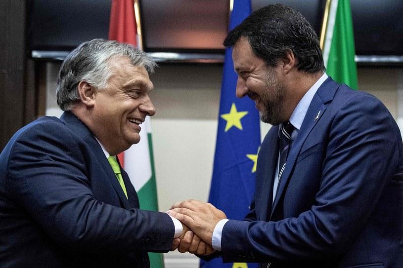 Viktor Orban i Matteo Salvini /AFP