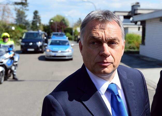 Viktor Orban, premier rządu Węgier. Fot. Thomas Lohnes /Getty Images/Flash Press Media