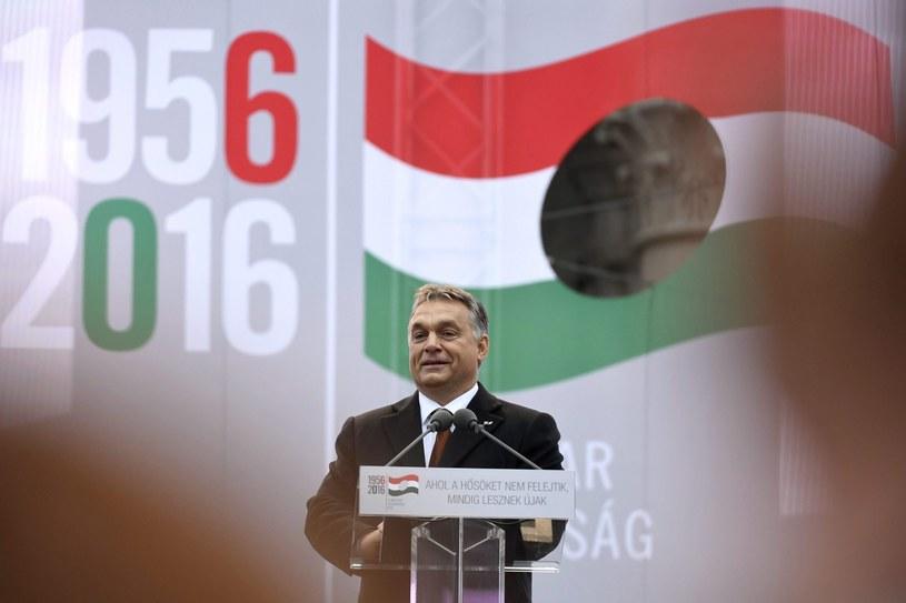 Viktor Orban w Budapeszczcie /PAP/EPA