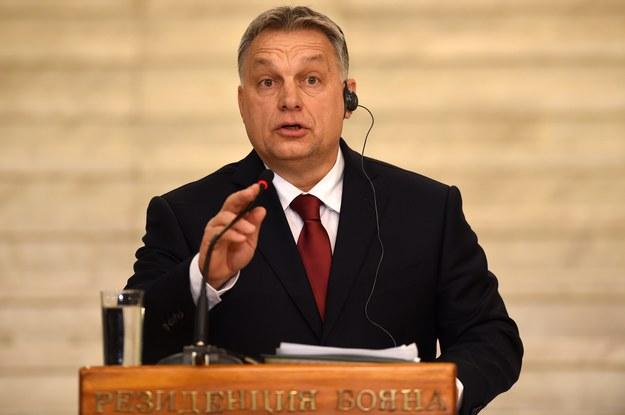 Viktor Orban /BORISLAV TROSHEV /PAP/EPA