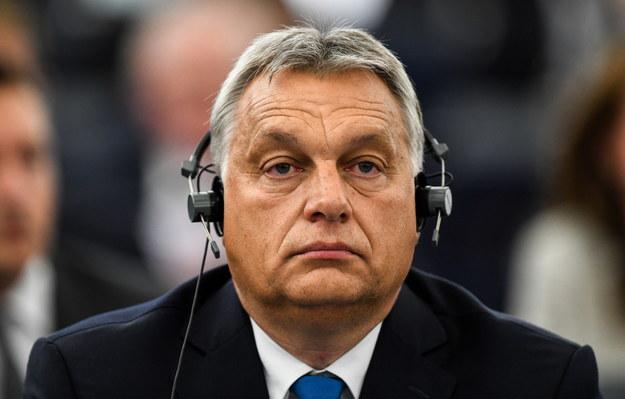 Viktor Orban /Patrick Seeger  /PAP/EPA