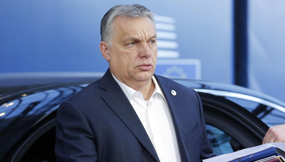 Viktor Orban /JULIEN WARNAND / POOL /PAP/EPA